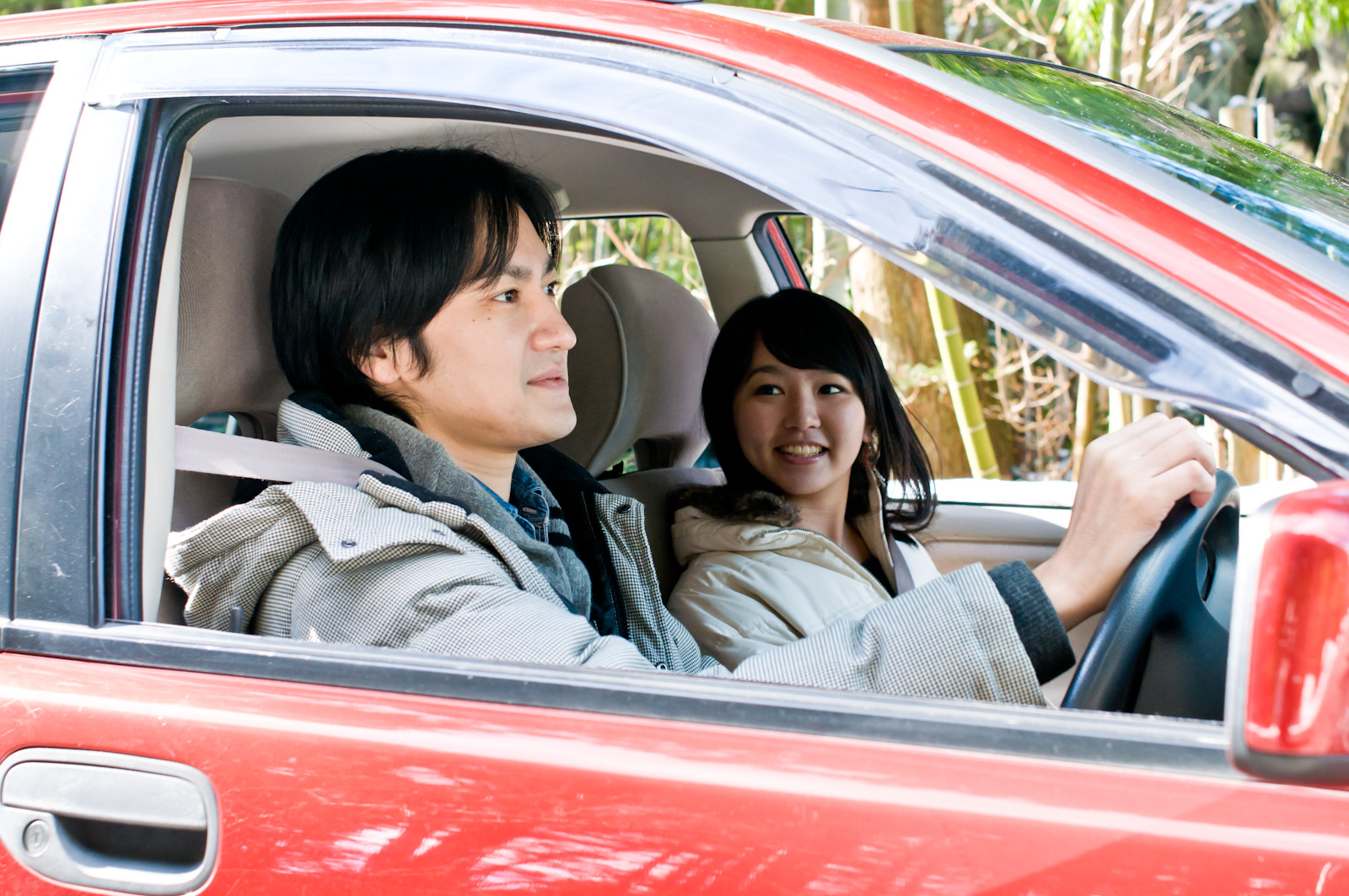 車内でも野外と同じ熱中症対策を
