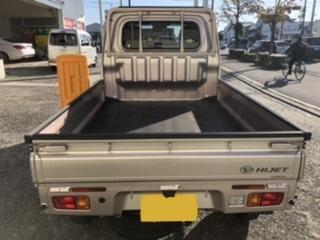 運転しやすい軽トラック 100円レンタカー フクユ城南店